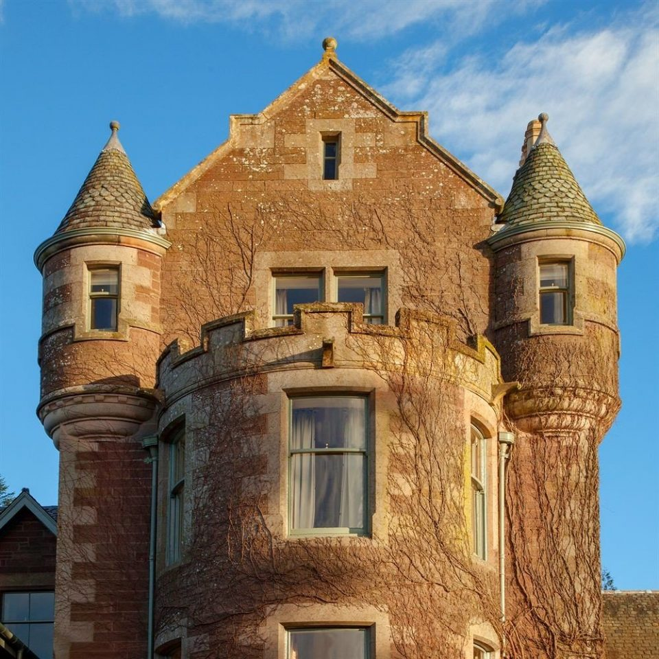 building sky property house Architecture home mansion castle tower stone old Villa château chapel middle ages