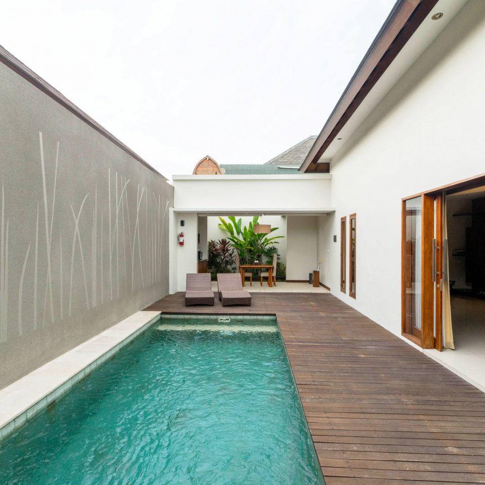 building property swimming pool Architecture Villa green condominium mansion professional