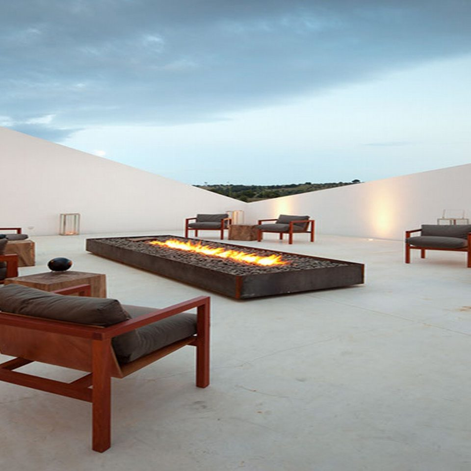 sky property house building Architecture home Villa living room