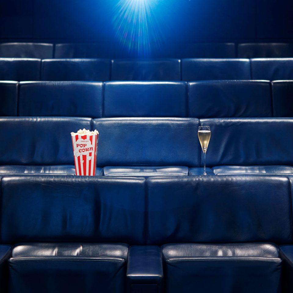 blue auditorium structure stage sport venue stadium theatre movie theater shape music venue arena keyboard