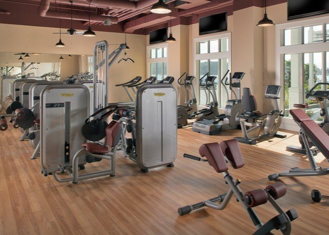 structure gym sport venue muscle arm hard cluttered
