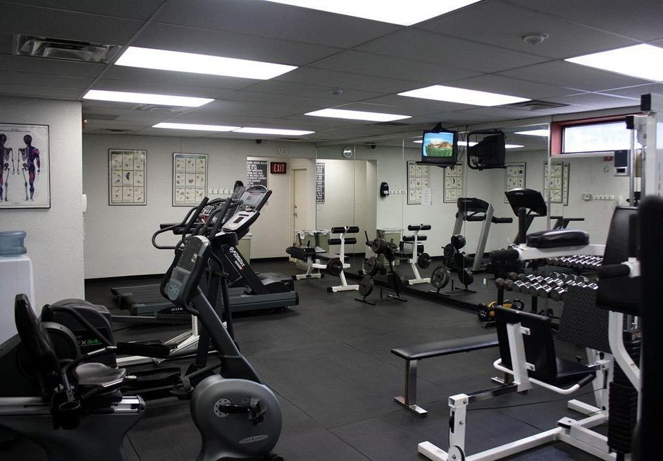 structure gym sport venue muscle arm office physical fitness cluttered