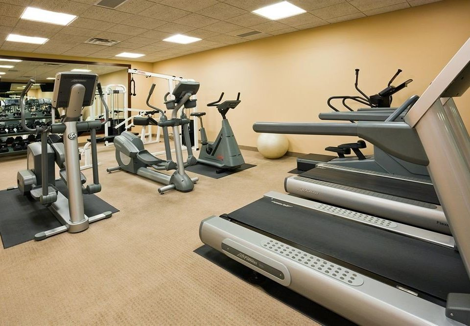 structure gym sport venue exercise machine arm muscle
