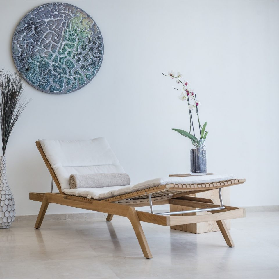 modern art art shelf glass chair arranged