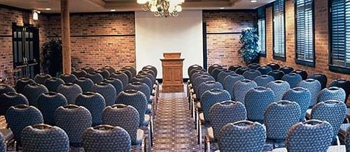 man made object auditorium building conference room arranged