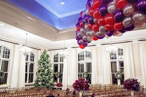 flower balloon arranged