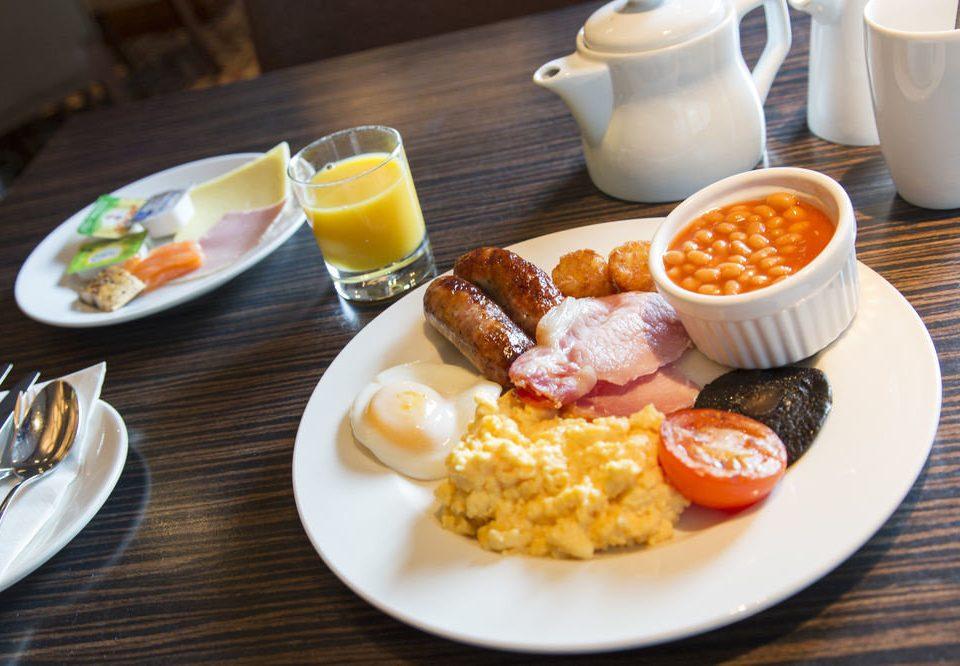 plate food coffee breakfast lunch brunch full breakfast cuisine restaurant meat egg arranged