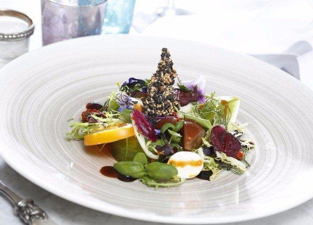 plate food salad white vegetable cuisine fruit breakfast arranged piece de resistance