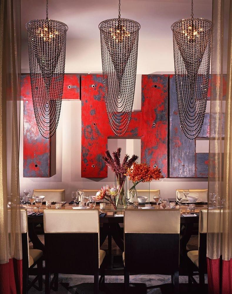 chair lighting restaurant modern art arranged