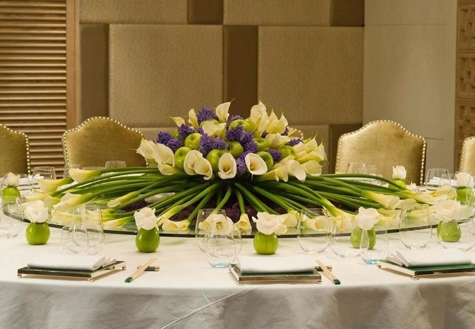 flower arranging floristry centrepiece buffet flower banquet floral design art counter different dining table