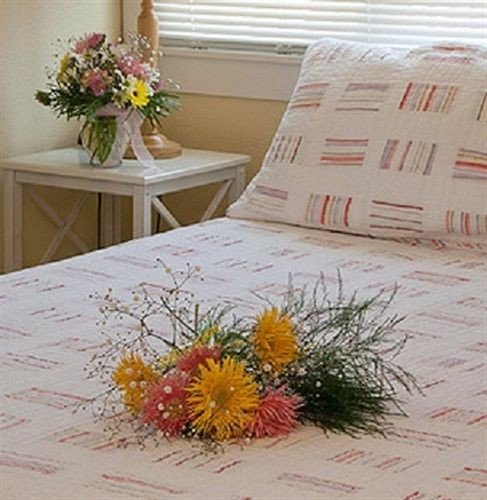flower tablecloth bed sheet art textile material plant bedclothes fresh
