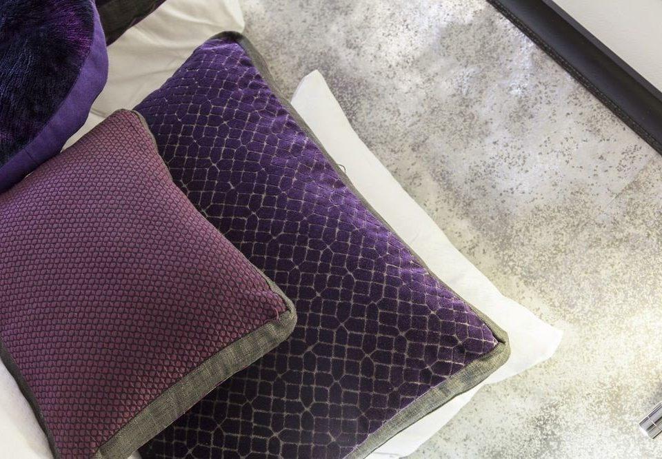 purple art flooring textile bed sheet material