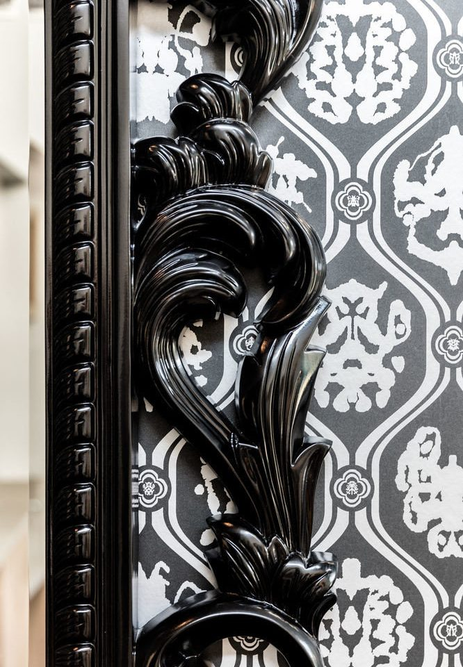 black black and white iron art monochrome lighting carving monochrome photography glass modern art column pattern material metal