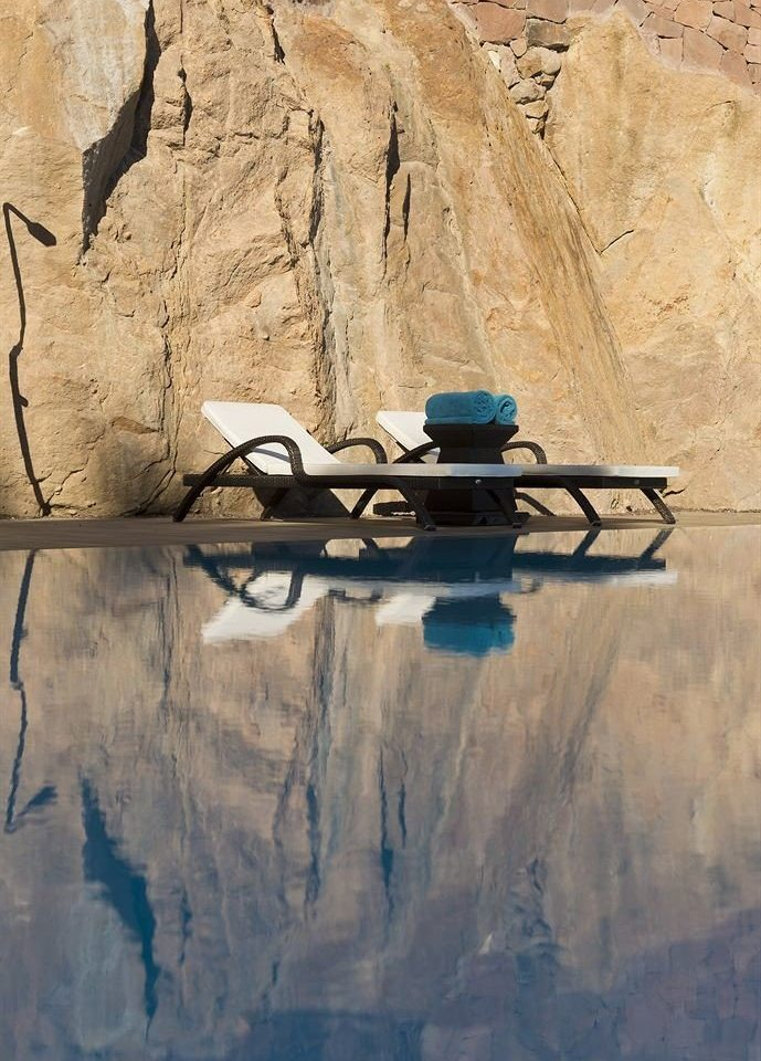 rock blue stone painting art sketch concrete