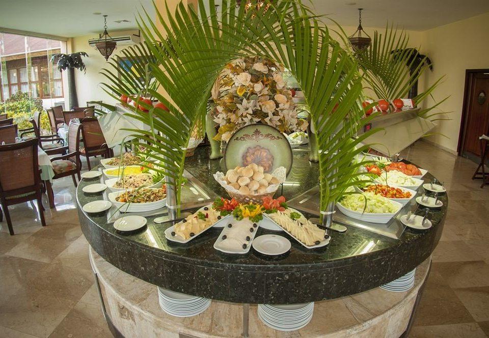 floristry flower arranging buffet art floral design food carving dining table