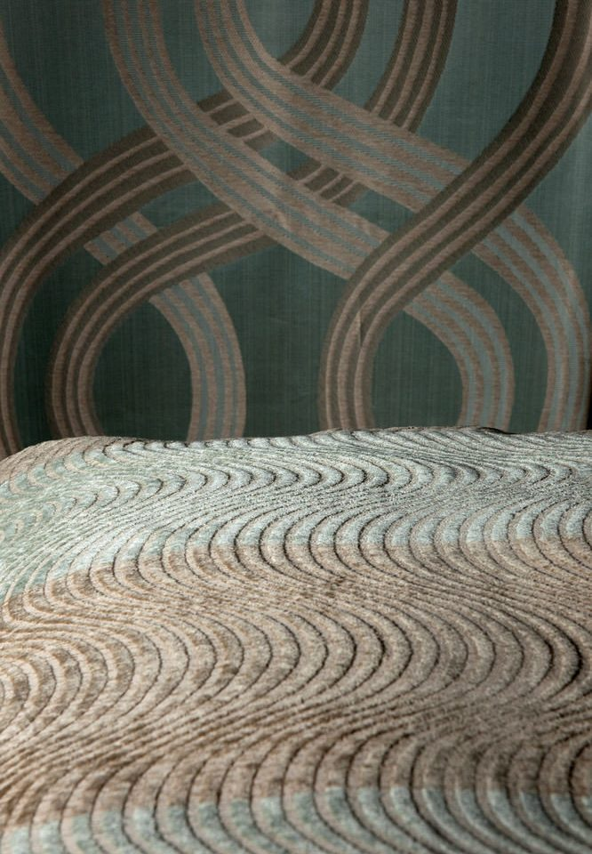 man made object flooring art chair circle pattern textile carving fabric