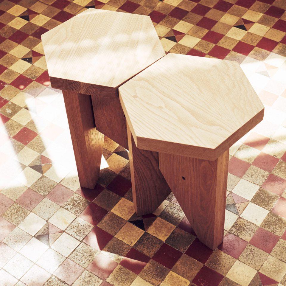chair product art tiled shape rug tile