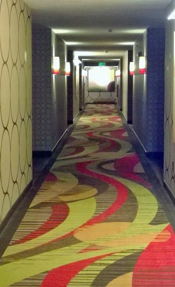 color flooring art painted