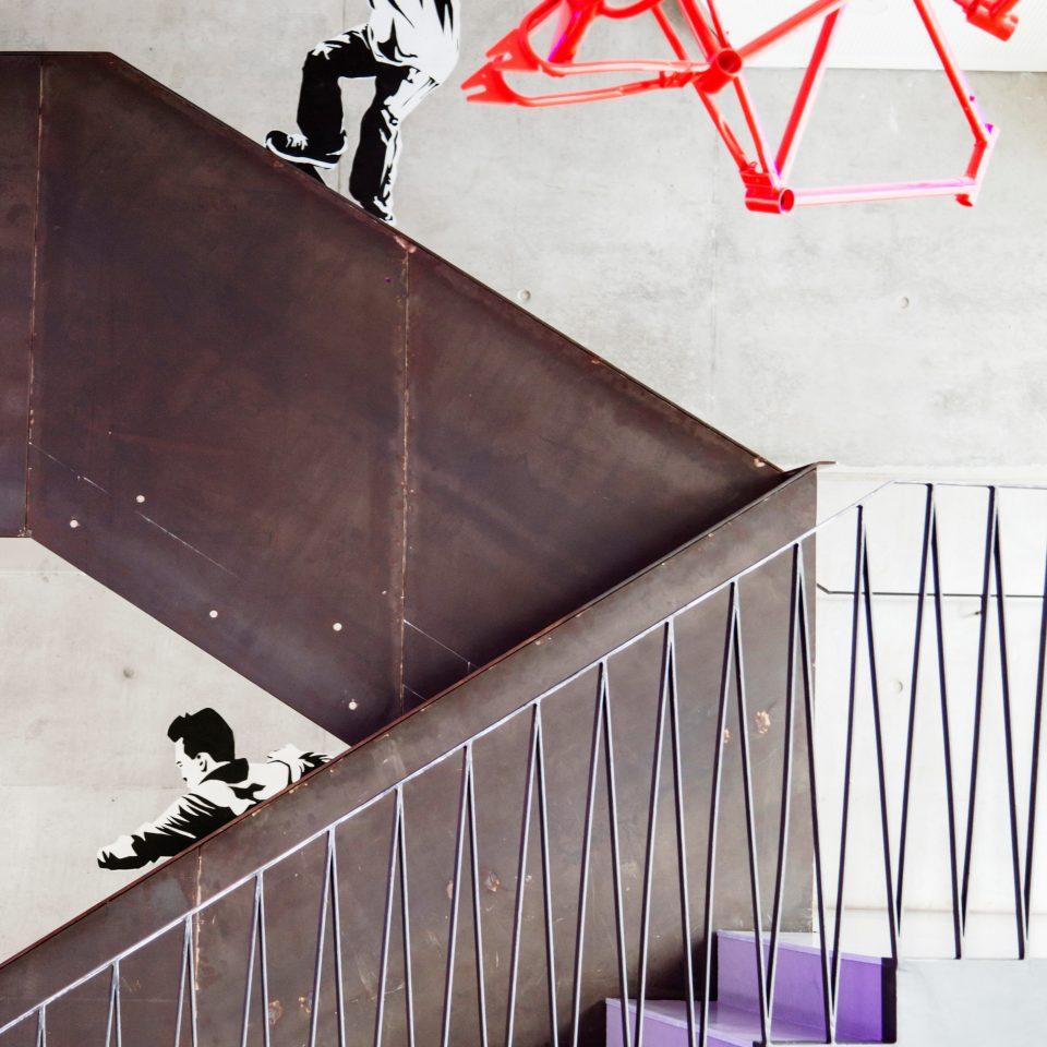 color art shape modern art stairs illustration line