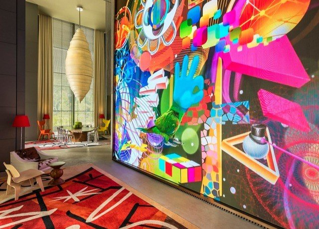 colorful art modern art mural colored