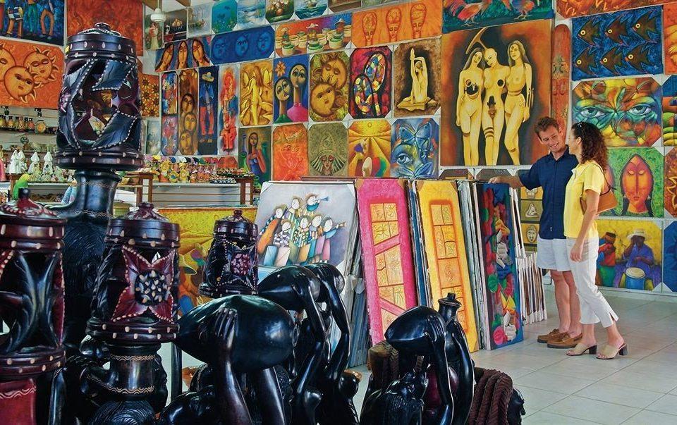 art comics mural painting modern art posing colorful