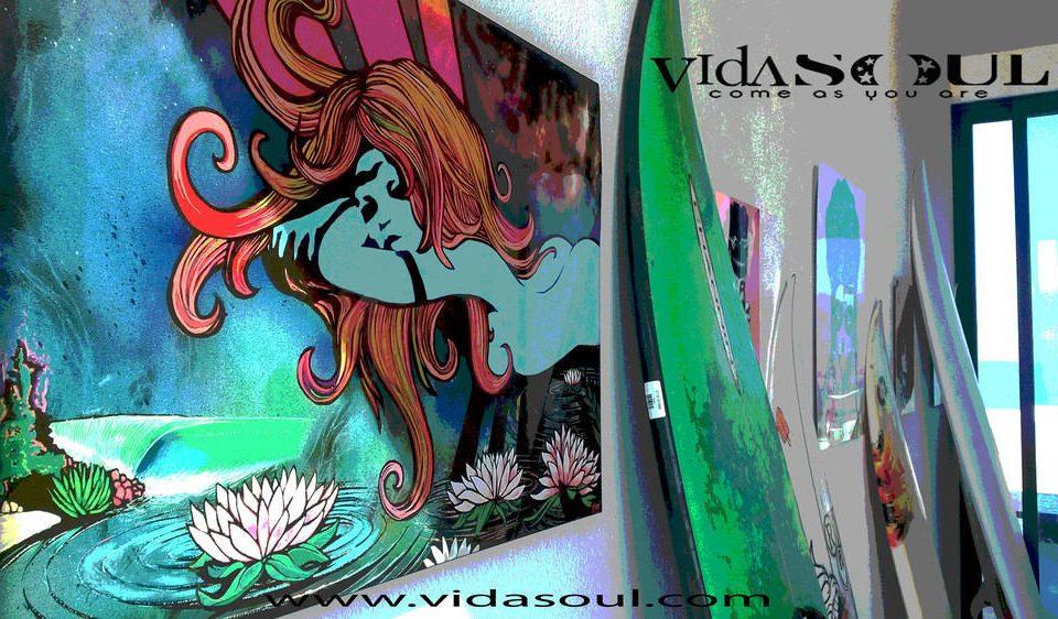 art mural modern art illustration comics