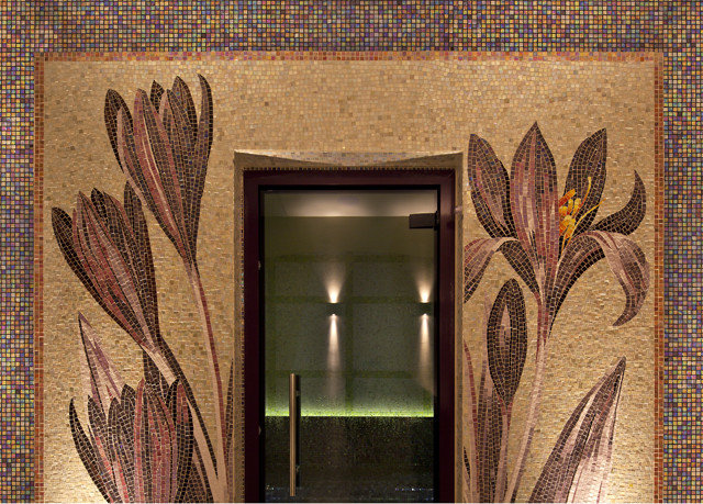 art mural modern art flooring tapestry textile material painting