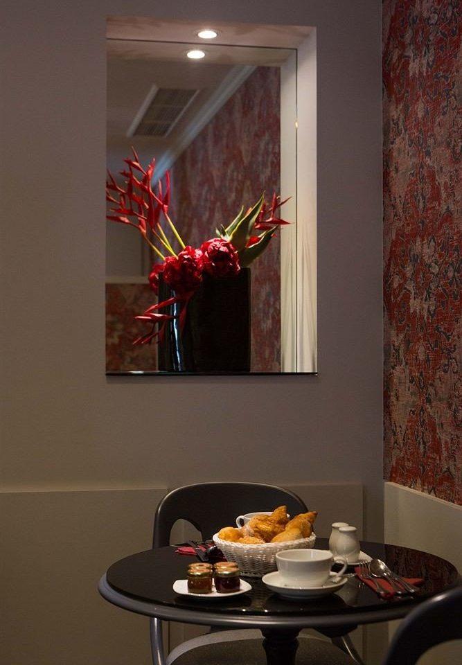 red flower living room home art lighting glass