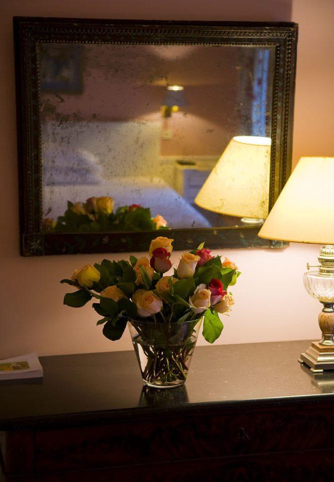 flower art living room lighting home painting lamp