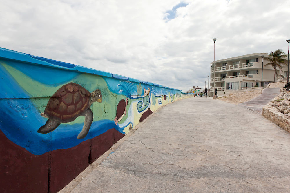 ground sky mural art