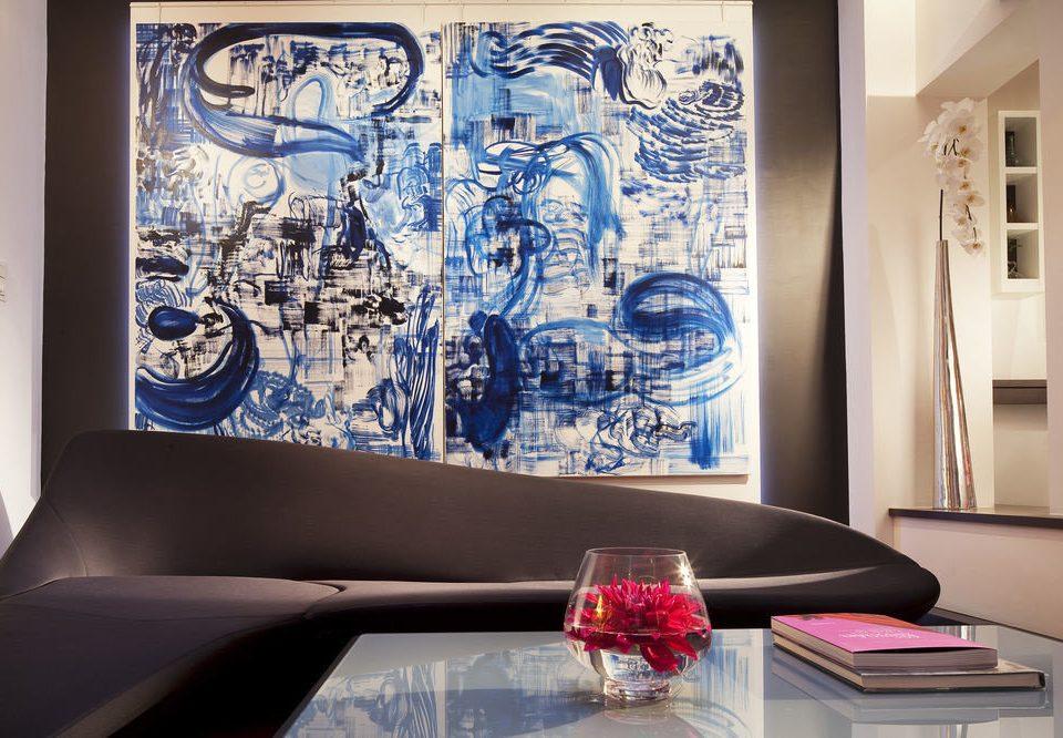 modern art living room art mural