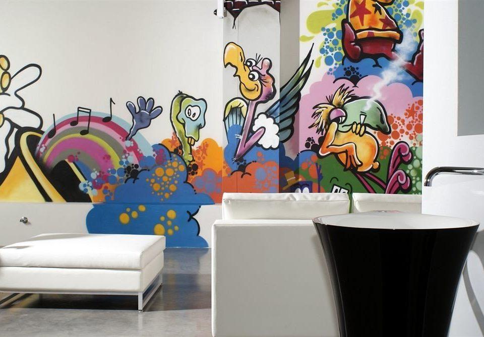mural modern art art