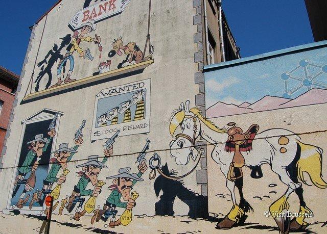 sky mural art street art