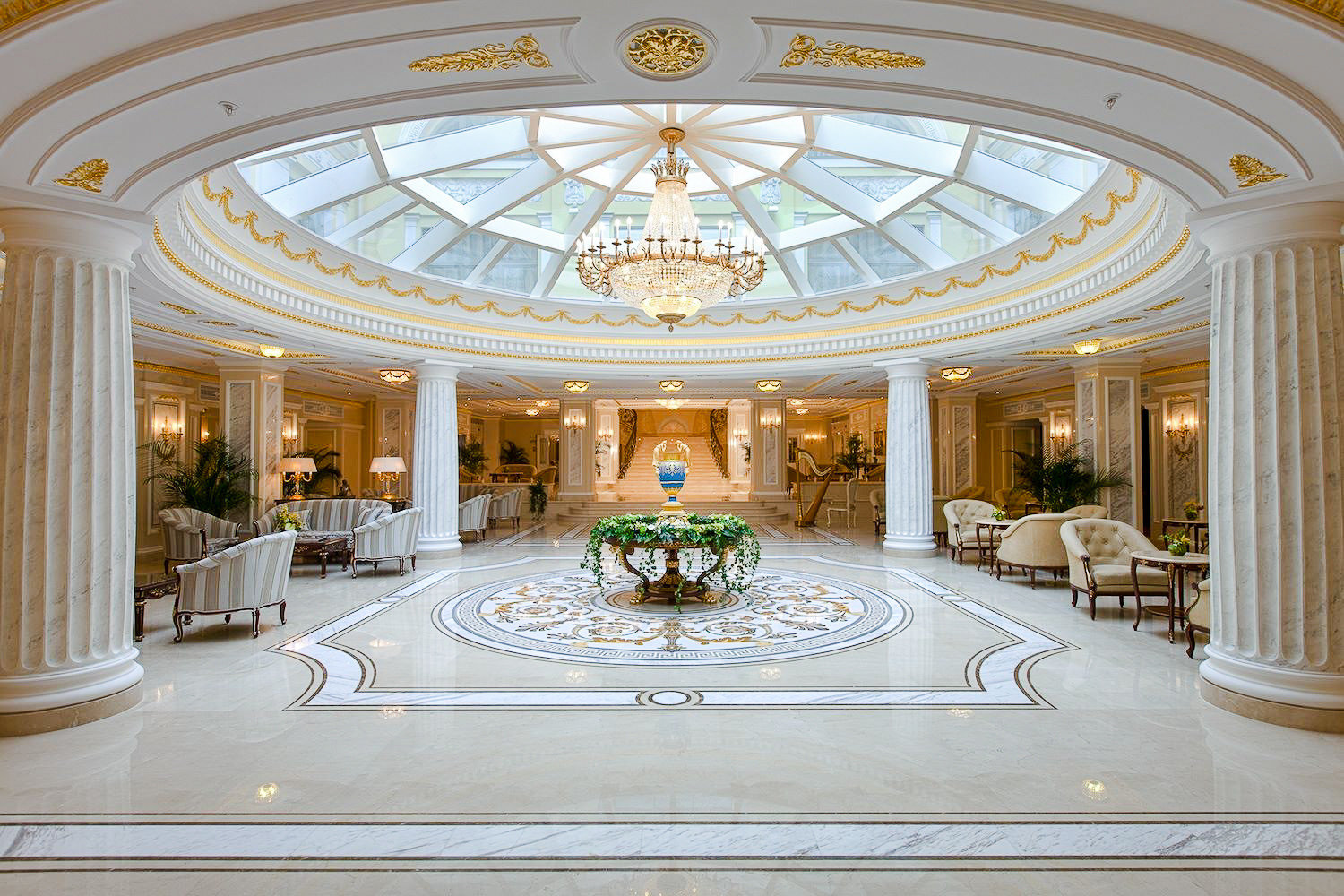 Arts + Culture Hotels Jetsetter Guides Luxury Travel function hall Lobby daylighting column hall