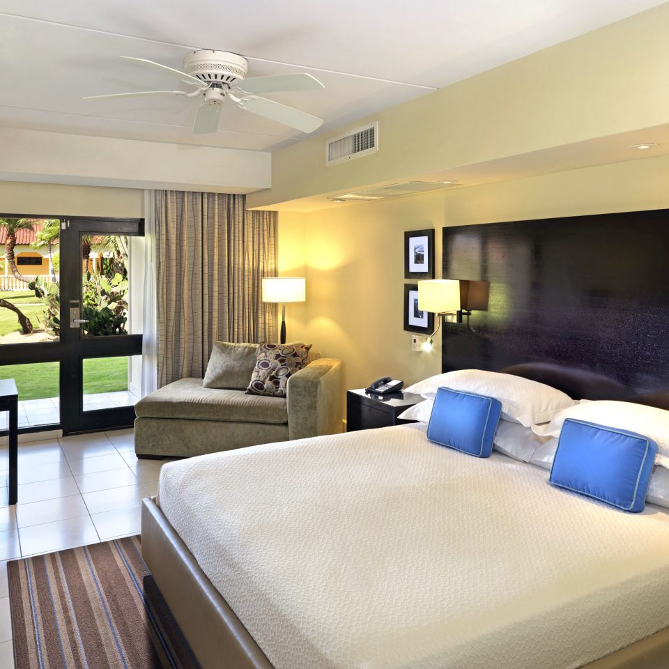 Aruba Bedroom caribbean Hotels Patio Scenic views Suite property condominium living room home Villa Modern flat