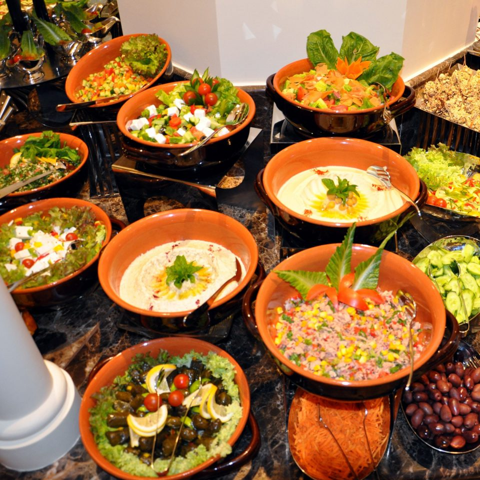 plate food bowl many cuisine buffet salad supper different asian food hors d oeuvre chinese food hot pot variety
