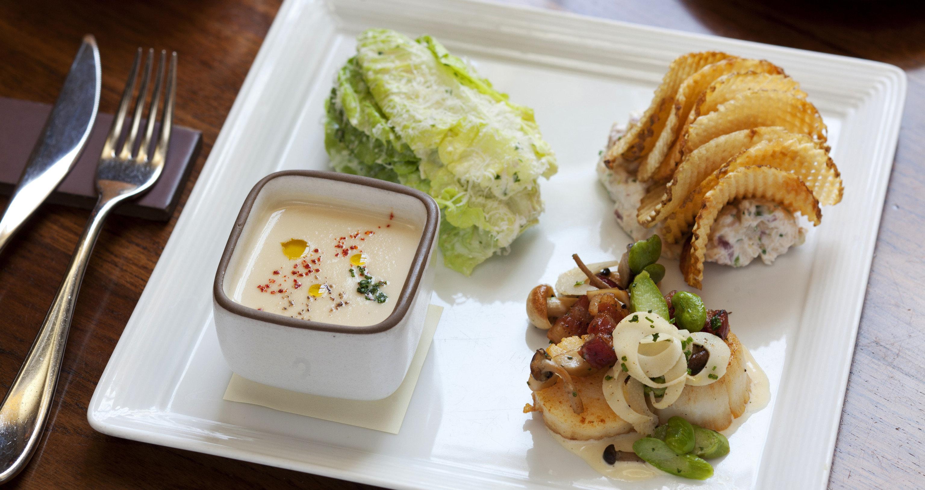 food plate lunch fork breakfast cuisine hors d oeuvre brunch restaurant asian food tray piece de resistance