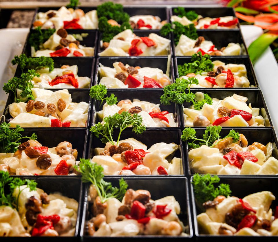 food hors d oeuvre vegetable bunch cuisine buffet different many asian food lunch breakfast line colors variety
