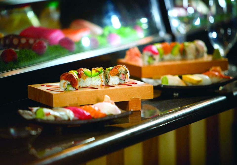 food restaurant buffet cuisine lunch asian food colorful