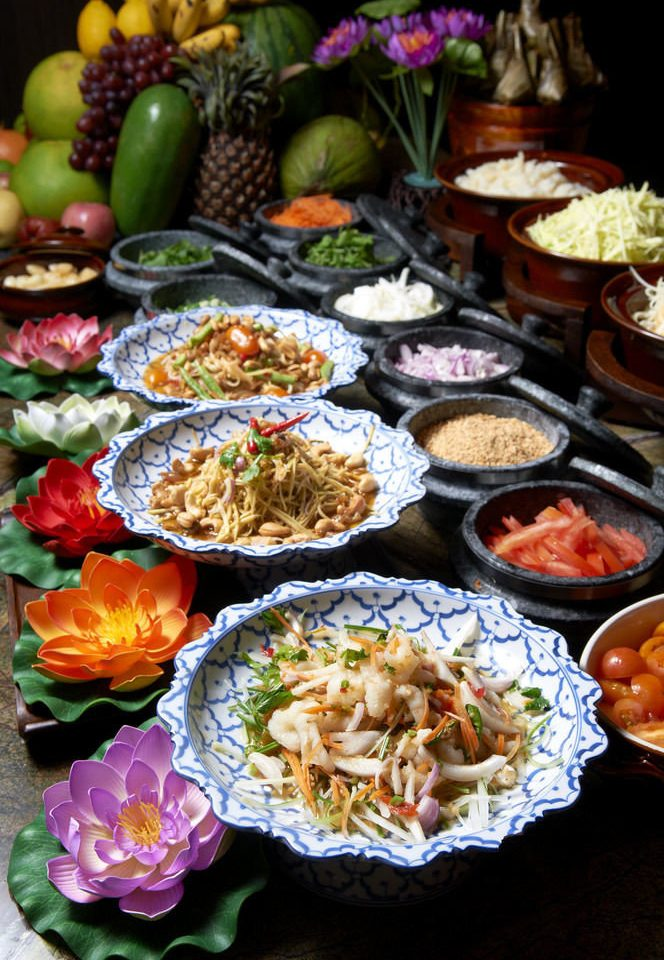 food cuisine asian food lunch buffet supper