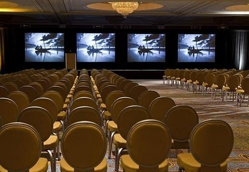auditorium function hall conference hall convention center audience theatre banquet ballroom meeting conference room colored
