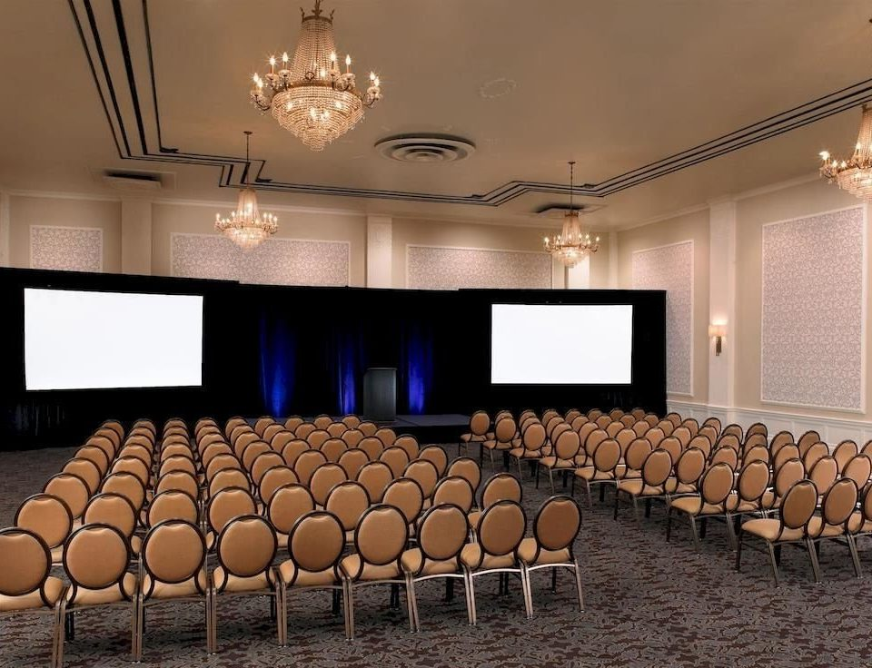 auditorium conference hall function hall stage theatre meeting ballroom convention center convention audience conference room