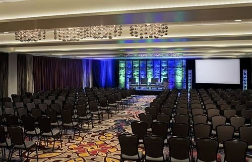 auditorium function hall conference hall audience stage convention center convention theatre ballroom hall