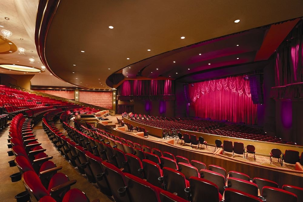 auditorium stage sport venue function hall audience convention center music venue nightclub movie theater theatre
