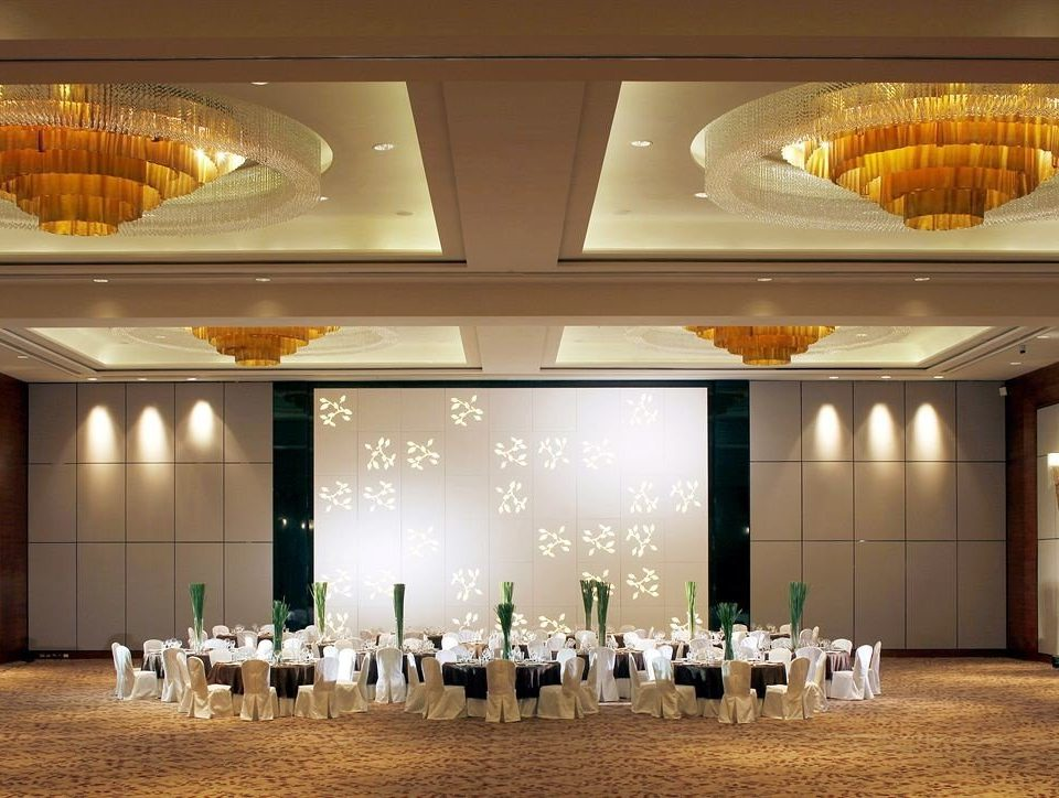 function hall banquet ballroom conference hall convention center auditorium wedding reception bunch light