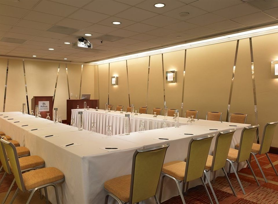 chair function hall conference hall auditorium convention center restaurant banquet meeting cafeteria ballroom