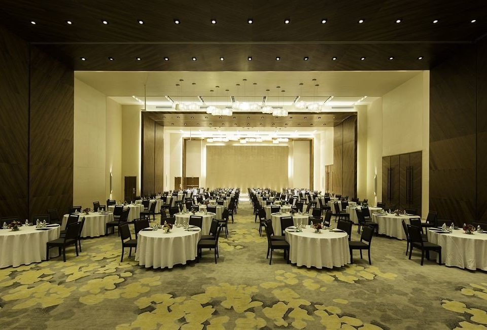 auditorium function hall ceremony ballroom stage wedding banquet convention center conference hall convention