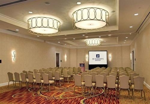 function hall chair conference hall scene auditorium banquet convention center ballroom meeting restaurant hall lined conference room