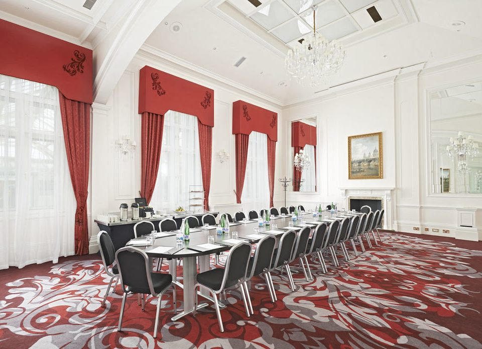 red chair property function hall conference hall ballroom restaurant banquet auditorium flooring mansion