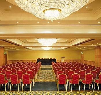 function hall auditorium chair banquet conference hall ballroom convention center line colored